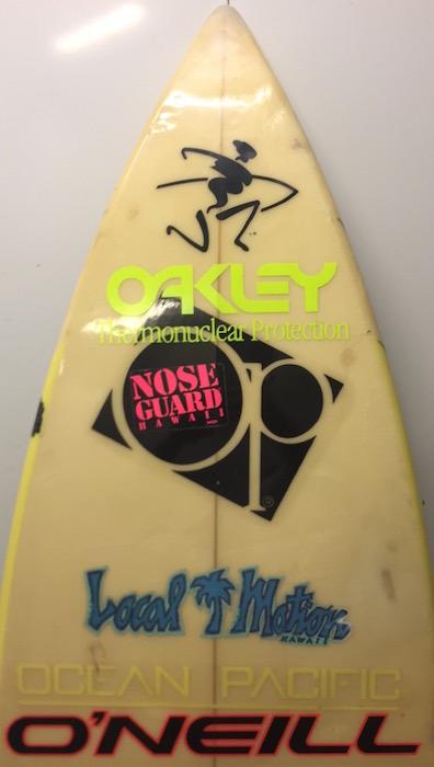 Ocean Pacific Op Thruster Shortboard Mid 1980 S