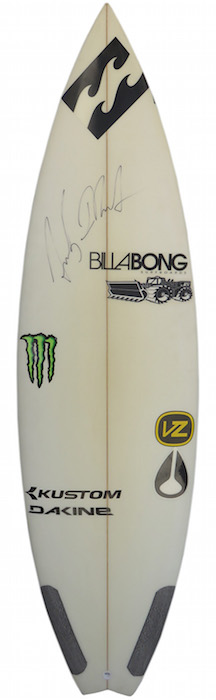 Andy Iron's personal signed 5'11 thruster by JS Industries | All original *2002, 2003, 2004 WORLD CHAMPION*