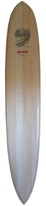 Hynson balsa by Mike Hynson 9'2 longboard w/ Bill Ogden art (early-mid 1990's) | All original