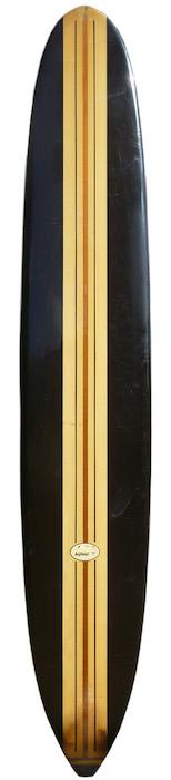 Greg Noll 10'2 longboard w/ black rails (early-mid 1960's) | All original