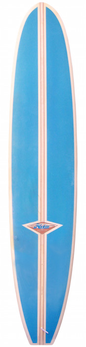 Hobie shaped by Phil Edwards 10' longboard, T-band stringer (late 1970's) | All original