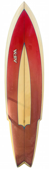 AIPA Surfings New Image 6'8 Sting by Rick Hamon #4738 (early 1970's) | All original