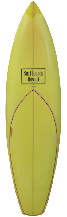 Surfboards Hawaii by Ben Aipa (early 1970's)