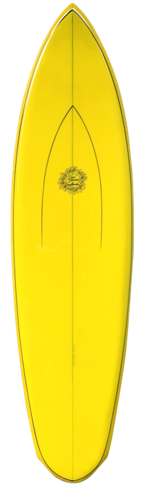 Dick Brewer shaped single fin (early 1970's)