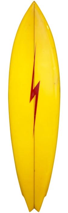 Infinity Surfboards single fin (early 1970's)