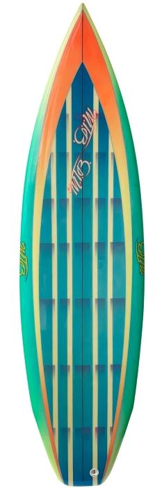 MTB surfboard 2+1 (late 1980's)