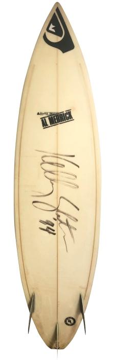 Kelly Slater personal surfboard by Al Merrick (1994)