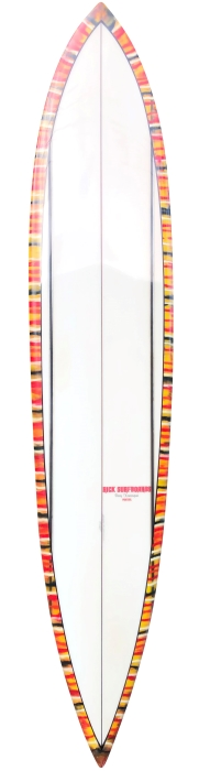 Rick Surfboards pintail shaped by Barry Kanaiaupuni (late 1960's)