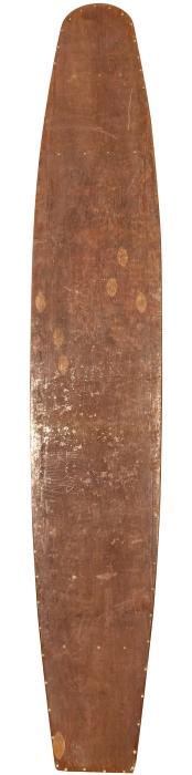 Hollow wooden Kookbox surfboard (late 1930's)