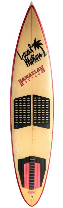 Local Motion surfboard by Steve Wilson (1980's)