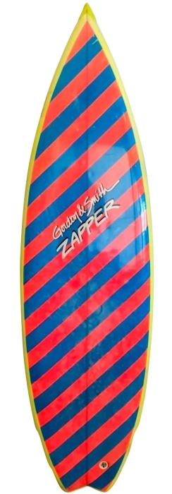 Gordon & Smith (G&S) Zapper model surfboard (1980's)